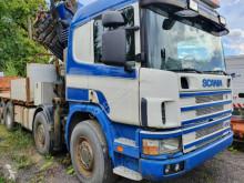 Camión caja abierta teleros Copma Scania 2001 Crane truck 50T 25m
