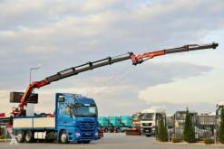 Ciężarówka Mercedes ACTROS 2546/6X2/BOX+CRANE PALFINGER 27000/FLY JI platforma używana