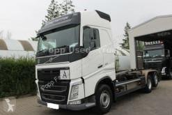 Volvo skip truck FH 460 6x2 Abroller Meiler RS21.70,Kamera*