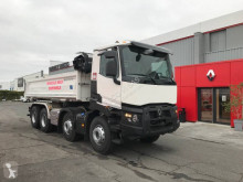 Renault two-way side tipper truck Gamme C 440.32 DTI 13