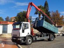 Camión Gancho portacontenedor Iveco Eurocargo 180 E 28