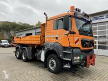 Camion MAN TGS 28.400 6x4-4 Meiller Kipper Winterdienst tri-benne occasion