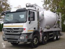 Mercedes Actros 3241 8x4 EURO5 Pumi Schwing 24M LKW gebrauchter Betonmischer Betonpumpe