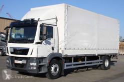 Camión lona corredera (tautliner) MAN TGM 18.290 Pritsche Plane LBW 2x Tank LGS EBA2