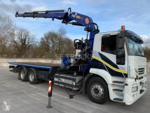 Камион Iveco Stralis превоз на строителна техника втора употреба