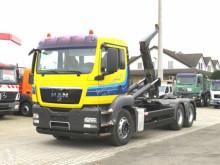 Camión Gancho portacontenedor MAN TG-S 26.440 6x4 BB Abrollkipper Blatt Blatt Schalter
