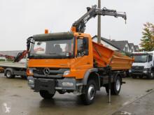 Mercedes Atego 1626 AK 2-Achs Allradkipper Kran Winterdienstplatte truck used tipper