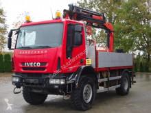 Iveco dropside truck Eurocargo 150E25 4x4 Pritsche mit Kran Palfinger