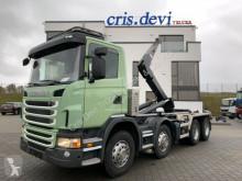 Scania G 420 CB 8x4 Trösch VDL Hakengerät | Retarder portacontenedor de cadenas usado