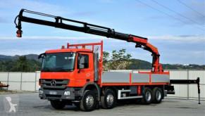 Camión caja abierta Mercedes Actros 3241 Pritsche 7,60 m+KRAN/FUNK* 8x4!