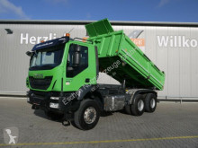 Iveco three-way side tipper truck AD260 T41W 6x6, Meiller, Bordmatik, Schalter, AP