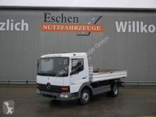 Mercedes 815K Meiller-3-Seiten-Kipper, 3 Sitze, Blatt,AHK truck used three-way side tipper