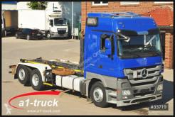 Camión Gancho portacontenedor Mercedes Actros 2544 BL Retarder Meiller RK20.70