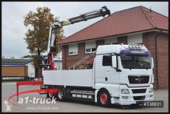 Camión caja abierta teleros MAN TGX MAN 26.480, HMF 2200, Kran, TÜV 05/2021