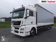 Camión MAN TGX 26.480 6X2-2 LL lona corredera (tautliner) usado