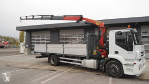 Camion Iveco Stralis 360 plateau ridelles occasion