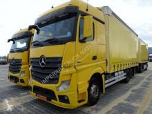 Camión Mercedes ACTROS 2545 / 6X2 /EURO 5 / 06.2012 / BIG SPACE lona corredera (tautliner) usado