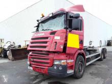 Camión portacontenedores Scania R 380