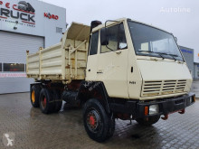 Camion Steyr 1491-MAN, Full Steel 6x6, Manual Pump benne occasion