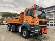 MAN TGS 28.400 6x4-4 Meiller Kipper Winterdienst truck used three-way side tipper