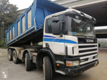 Scania P124 400 truck used three-way side tipper