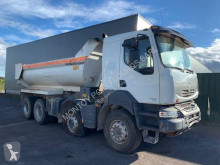 Camion Renault Kerax 460 DXI benne accidenté