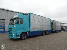 Volvo FH13 trailer truck used cattle