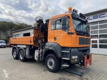 Camión MAN TGA 28.350 6x4-4 Meiller Kipper + Kran +Winterd. volquete volquete trilateral usado