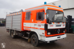 Renault fire truck Brandweerwagen JN90 / Steel suspension