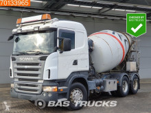 Scania R 420 truck used concrete mixer