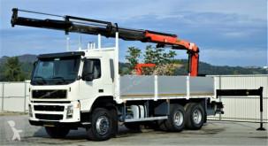 Camion Volvo FM 12 380 Pritsche 6,30m + Kran/FUNK*6x4* plateau occasion