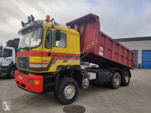 MAN 33-402 DFA TRACTOR / KIPPER MIXTE DOUBLE USE truck used tipper