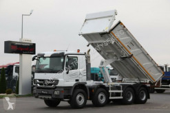 Camion benne Mercedes ACTROS 4141 / 8X4/2 SIDED TIPPER/BORTMATIC /