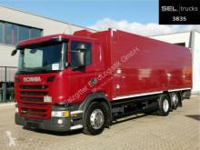 Camión Scania G 320/ Lift-Lenkachse/ Ladebordw./ NAVI/ Kamera caja abierta transporte de bebidas usado