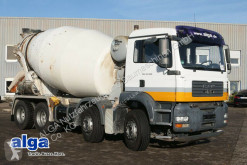 Camión MAN 35.400 TGA BB 8x4, Euro 4, Stetter 9m³, Klima hormigón cuba / Mezclador usado
