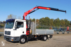 Camion platformă si obloane MAN TGL 12.210 BL