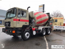 MAN 25.272 Full steel - Manual - Mech p - Stetter truck used concrete mixer