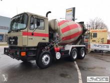 Camion betoniera cu rotor/ Malaxor MAN 25.272 Full steel - Manual - Mech p - Stetter