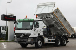Camion Mercedes ACTROS 3332 / 6X4/2 SIDED TIPPER /BORTMATIC / benne occasion