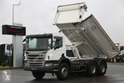 Camion benne Scania P 380 / 6X4/ 2 SIDED TIPPER/BORTMATIC/ 237 000KM