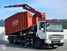 Camion DAF CF 75.310 * Kipper 6,50 m + KRAN benne occasion