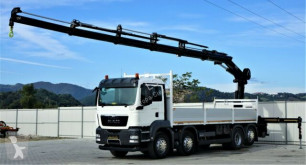 Ciężarówka MAN TGA 35.400 Kipper 7,20 m+KRAN/FUNK*8x4! platforma używana