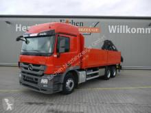 Camion plateau ridelles Mercedes 2644L Actros 6x4, HIAB 211 EP3 Falt, Funk, Klima