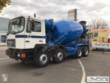 Camion béton toupie / Malaxeur MAN 32.342 Full steel - Manual - Mech pump - 9M3