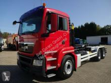 Camion dublu MAN TGS 26.400 Abrollkipper HYVALIFT BB 6x4