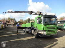 Camion Scania P320 Pritsche mit HMF2420 6xhydr 6x2 Lenk-Lift occasion