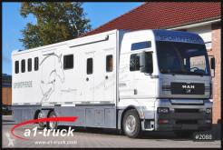 Camión MAN TGA 26.460 XXL Slide Out 5 Pferde remolque para caballos usado