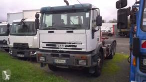 Camión Gancho portacontenedor Iveco Eurotrakker 260E38