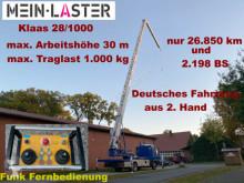 Camion MAN 8.103 Klaas 28/1000 30 m 1.000kg Funk FB 2.Hd. plateau occasion