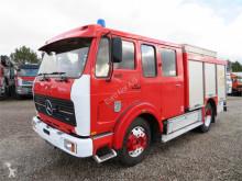 Camion camion de pompieri cu remorca Mercedes-Benz 1017 4x2 1200 L Mobilsprøjte M9